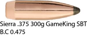 Sierra .375 300gr GameKing