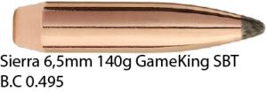 Sierra 6,5mm 140gr GameKing